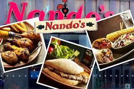 Nandos Food and Logo