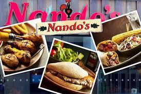 Nandos Food and Logo
