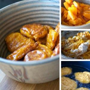 Pumpkin Fritters Caramel
