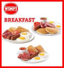 Wimpy Breakfast